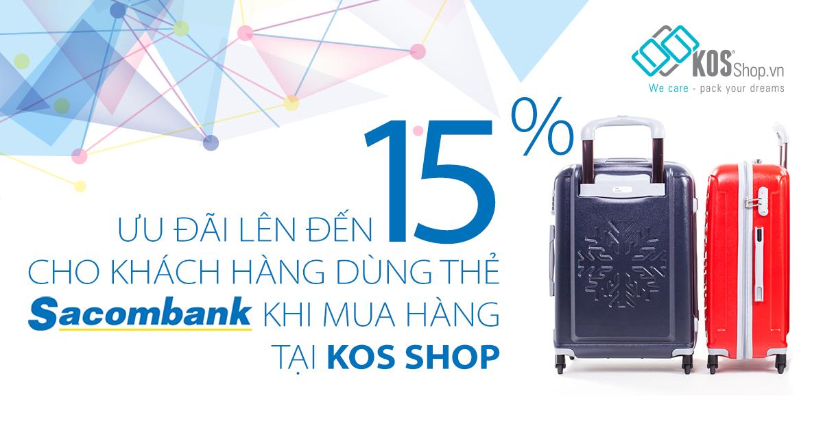 khuyến mãi dành cho khách hàng xài thẻ Sacombank
