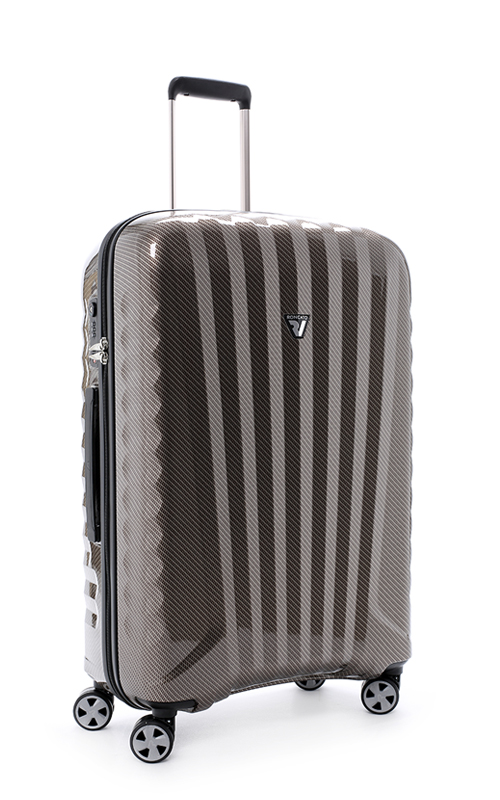Vali Roncato Zip Premium Carbon 6 tấc - Brown