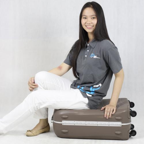 kinh nghiệm mua vali kéo vỏ cứng chịu lực tốt